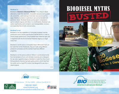 Biodiesel Myths Busted Cover